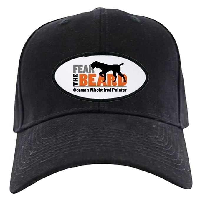 5c4c3cd4 Amazon.com: CafePress - Fear The Beard - Gwp Baseball Hat Black Cap ...