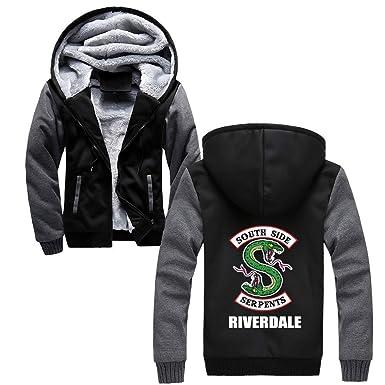 Aivosen Riverdale Chaquetas con Capucha Otoño Invierno Chaqueta de Béisbol Casuales Abrigo Deportivo Hipster Jacket Coat: Amazon.es: Ropa y accesorios
