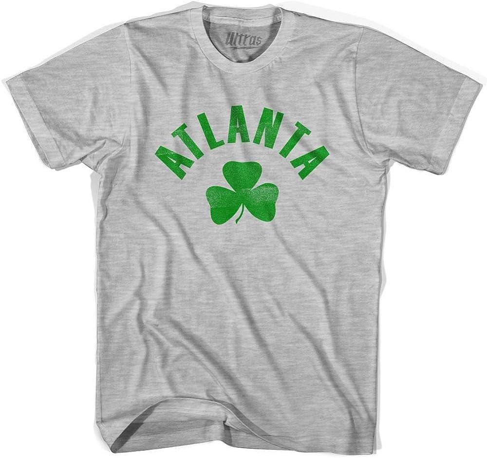 Atlanta City Shamrock Tri-Blend T-Shirt