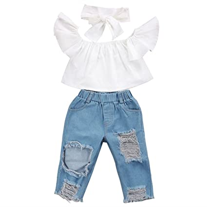 Amazon.com: yjm bebé niñas traje, Ropa bebé niños niñas ...