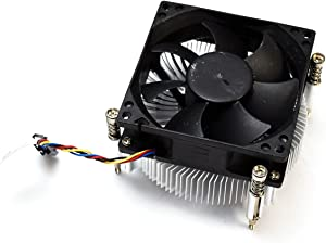3NVT9 Genuine OEM Dell Optiplex 790 990 MiniTower Medium Tower 65 Watt Performance CPU Cooling 65W Heatsink Fan Module w/3.5 Inch Cable 5p 4w Captive Screws MT Thermal Control DW014 N06X3