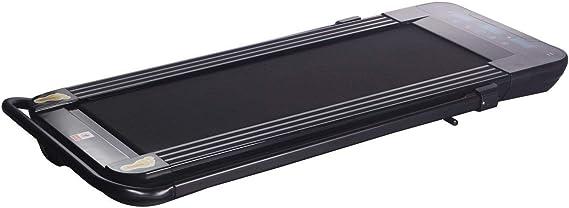 VibroSlim uWalk Foldable Walking Treadmill | Under Desk Portable Electric Walking Pad | Treadmill for Home + Office | LED Touchscreen