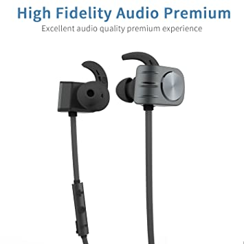 COSPOR Auriculares inalámbricos Bluetooth con diseño magnético estéreo in-ear auriculares integrados micrófono para entrenamiento