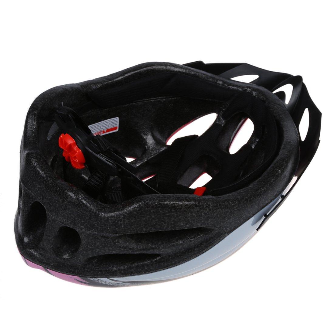 SODIAL(R) Casco de Carbono para Bicicleta con Visera para Adulto Circunferencia de Cabeza 54-65cm/ Ancho de Cabeza Bajo 16cm: Amazon.es: Deportes y aire ...