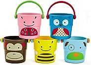 Zoo Banho Skip Hop - Pilha de baldinhos para o banho, Skip Hop, Colorido