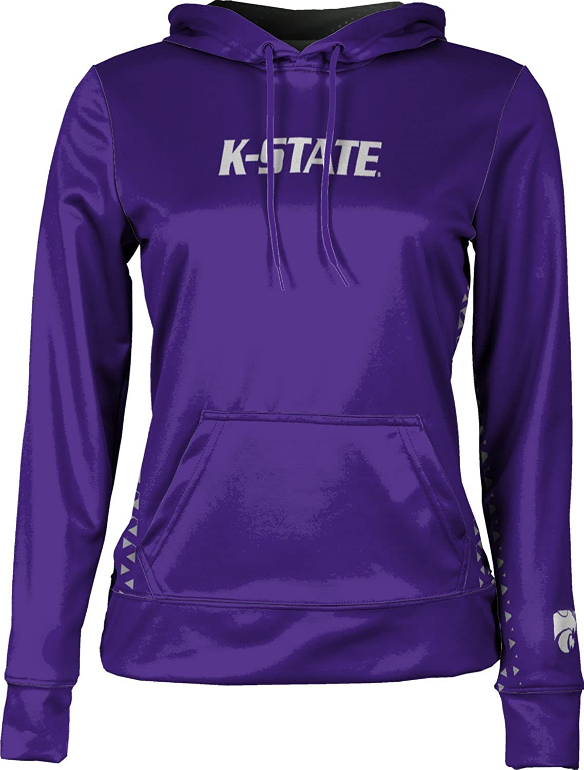 School Spirit Sweatshirt Geo ProSphere Kansas State University Girls Pullover Hoodie