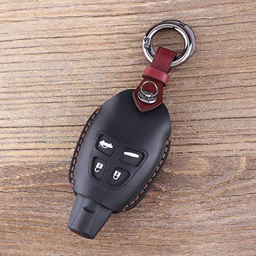 ShineBear Leather Car Key Case Car Styling 4 Button, used for sale  Delivered anywhere in USA