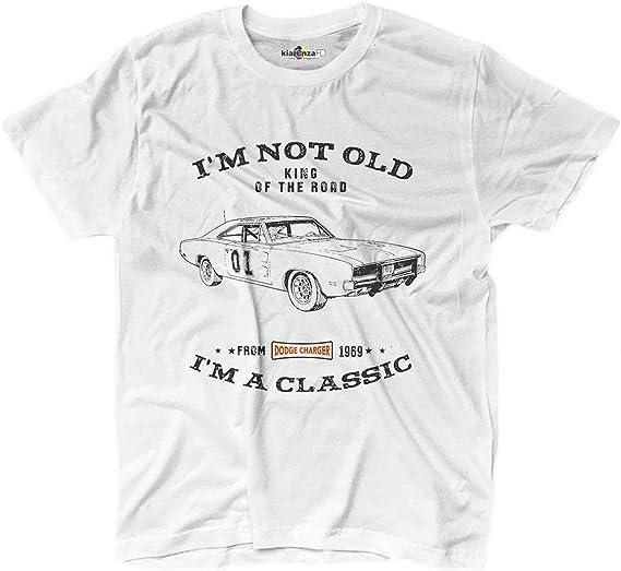 KiarenzaFD Camiseta Coche clásico Rey de la Carretera Auto Generale Lee Grunge: Amazon.es: Deportes y aire libre