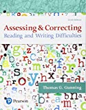 img - for Assessing and Correcting Reading and Writing Difficulties, with Enhanced Pearson eText -- Access Card Package (6th Edition) (What's New in Literacy) book / textbook / text book