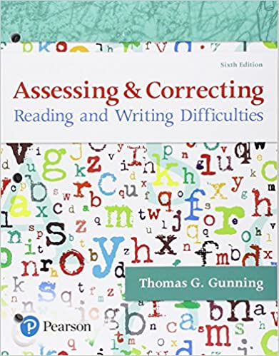Amazoncom Assessing And Correcting Reading And Writing