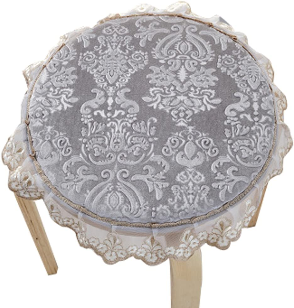Upscale Velvet Art Round Seat Cushion Round chair cushion Baby rounded pad slip Chair Seat Student  sc 1 st  Amazon.com & Shop Amazon.com | Stool Covers islam-shia.org