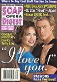Jacob Young, Rebecca Herbst, General Hospital, Andrea Evans, Daytime's Most Inviting Sets - October 3, 2000 Soap Opera Digest Magazine