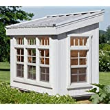 Little Cottage Company Petite Greenhouse Panelized Playhouse Kit