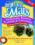 hanging basket liners - Soil Moist Mats For Hanging Baskets Planters and Containers 6pc Pack