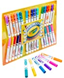 Crayola Marker Madness, 34 Broad Line Markers, Scented & Neon, Art Set for Kids, Gift