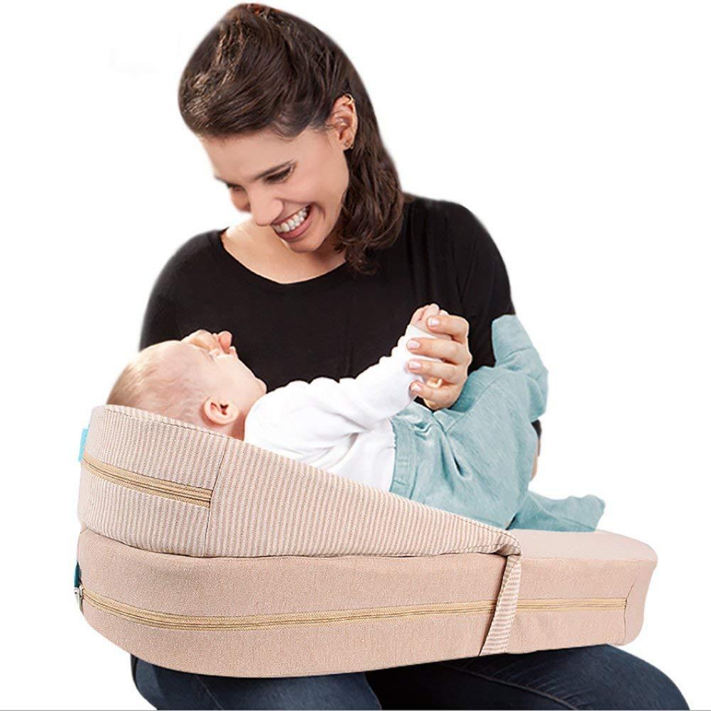 調節可能な母乳育児枕多機能妊娠中の女性の赤ちゃん授乳枕母子用品   B07TJ429J7
