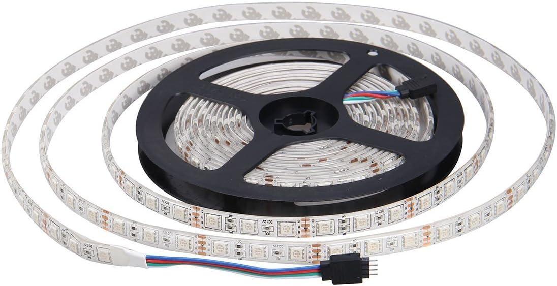 JOYLIT Tiras LED 24V Multi Color RGB 300 LEDs SMD5050 IP65 Impermeable 5 metros
