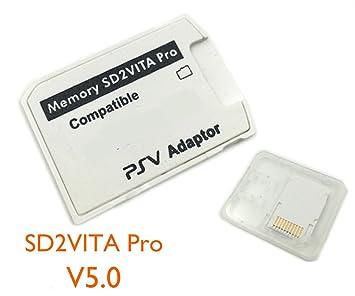 TecSonic Pro PSV SD2VITA - Adaptador de Tarjeta de Memoria ...