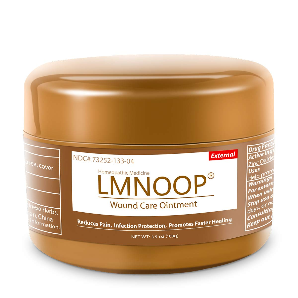 LMNOOP® Wound Care - Bed Sore Cream, Medical Grade Skin Healing Treatment Products, Infection Protection First Aid Ointment for Bed & Pressure Sores Diabetic Venous Foot & Leg Ulcer Burns Cuts