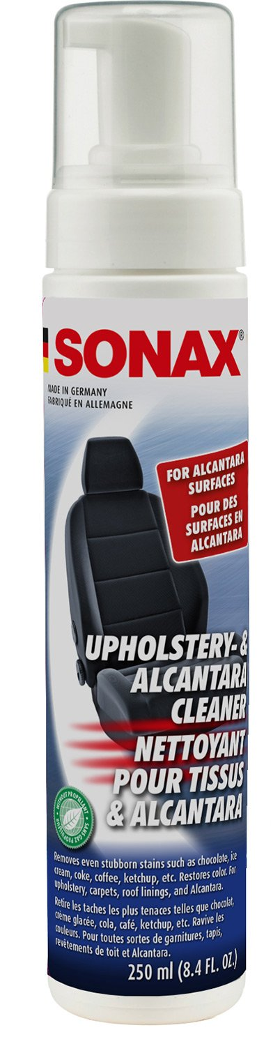 Sonax 206141 Upholstery/Alcantara Cleaner, 8.45 Fluid_Ounces