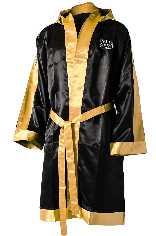 Budodrake Boxmantel schwarz-Gold Senior