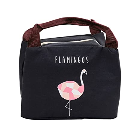 94a5a82c05 iSuperb Borsa Termica Impermeabile Borsa Porta Pranzo Termico Lunch Bag per  Adulto e Bambini 21×