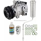 New Genuine OEM AC Compressor & Clutch + A/C Repair Kit For Ford Focus - BuyAutoParts 60-81444RN New