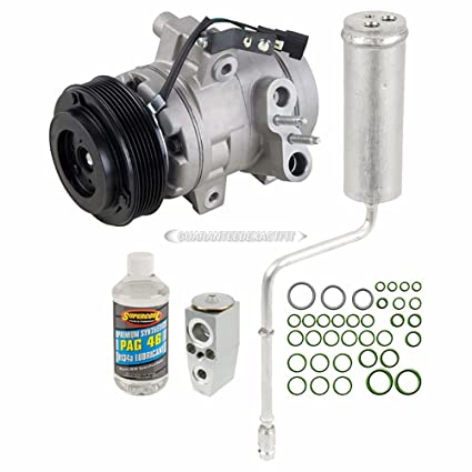 Amazon.com: OEM AC Compressor w/A/C Repair Kit For Ford Focus 2008 2009 2010 2011 - BuyAutoParts 60-81444RN NEW: Automotive