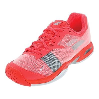 Babolat Tennis Shoes >> Amazon Com Babolat Junior Jet All Court Tennis Shoes Racquet Sports