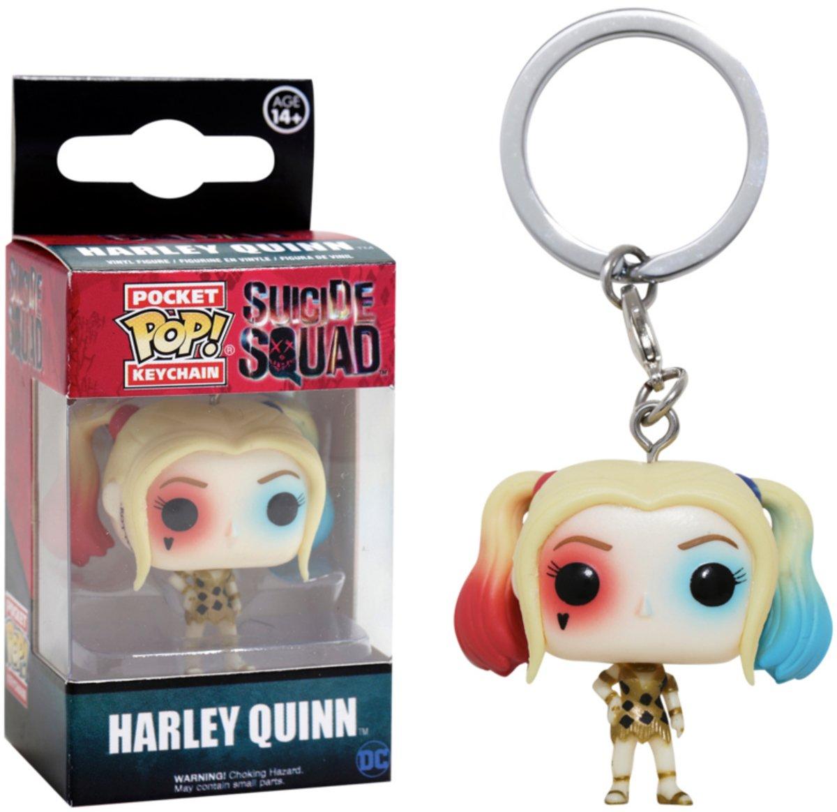 Funko - Llavero Pop Harley Quinn Fiesta: Amazon.es: Juguetes ...