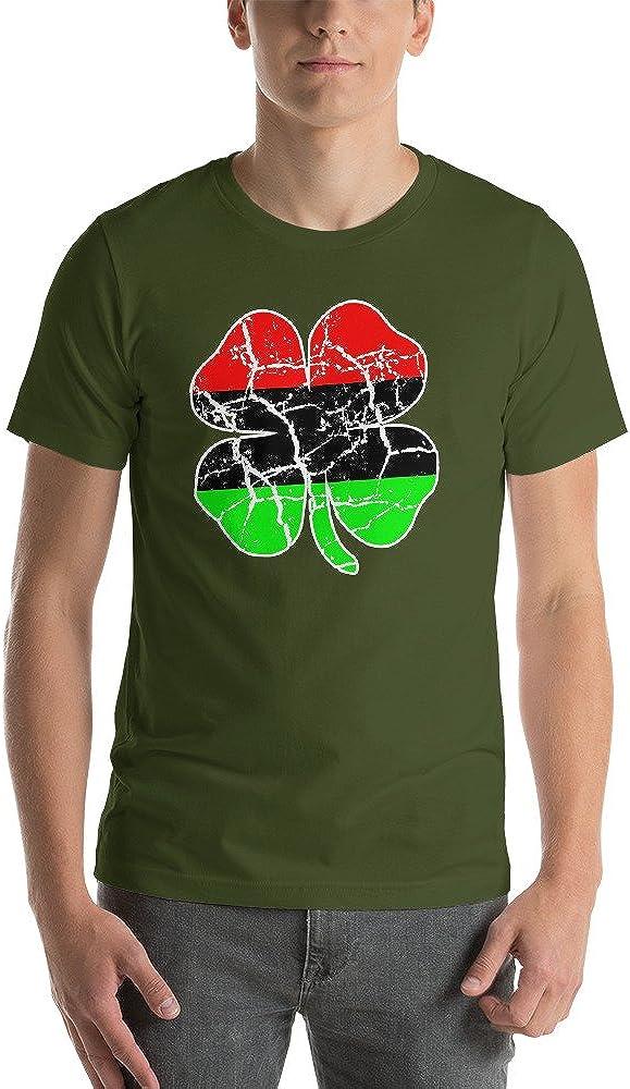 The Mighty Genius Afro Irish Clover Saint Patty T-Shirt