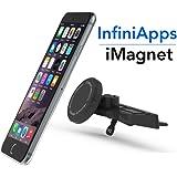 [Maker of iMagnet]Car Mount, Magnetic Mount-InfiniApps The Original Patented Slyde CD Slot Mount, Car phone mount for Smartphones