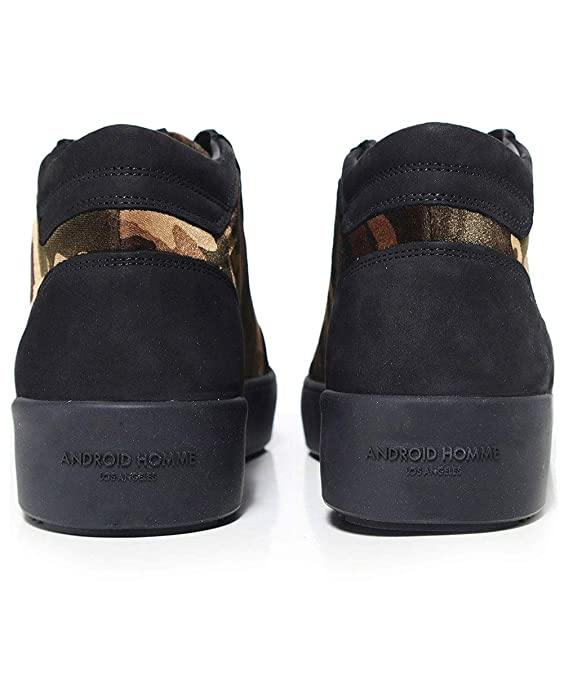 e12f4306dda Android Homme Men s Propulsion Mid Top Camouflage Velvet Trainers UK 7 Black   Amazon.co.uk  Shoes   Bags