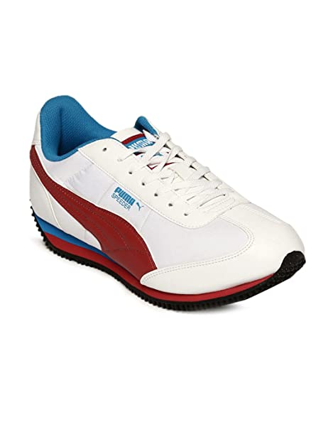 f7ec5b406d96aa Puma Male White Sports Shoes P35578102-9  Buy Online at Low Prices in India  - Amazon.in