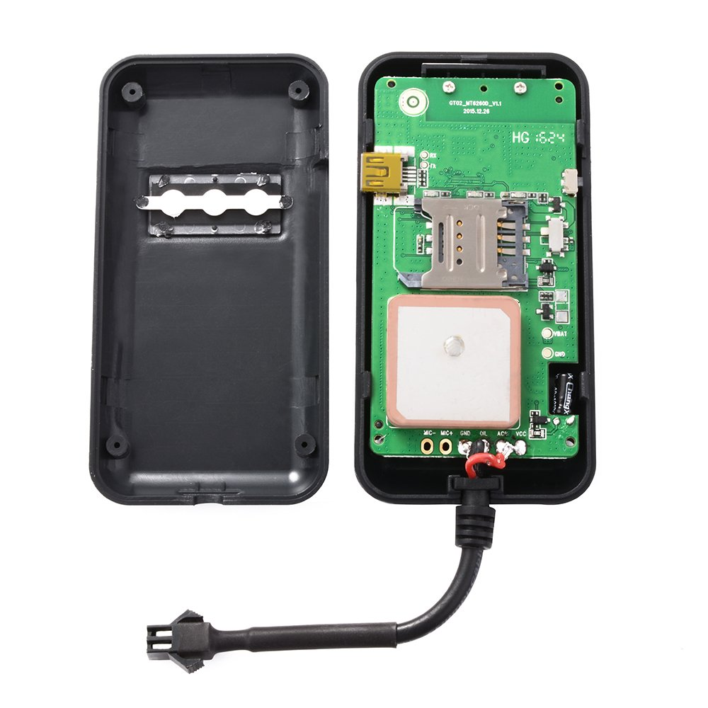 XCSOURCE Vehicle Tracker Real-time Locator GPS//GSM//GPRS//SMS Tracking Motorcycle Car Bike Antitheft AH207