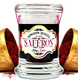 Afghan Saffron Threads (250 Average Color Reading) Kingdom Quality, All Red Premium Stigmas (0.176 once, 5 grams)