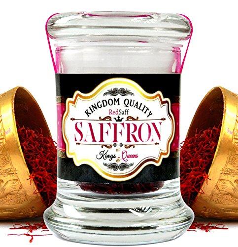 Afghan Saffron Threads (250 Average Color Reading) Kingdom Quality, All Red Premium Stigmas (0.176 once, 5 grams) by Redsaff Saffron (Image #6)
