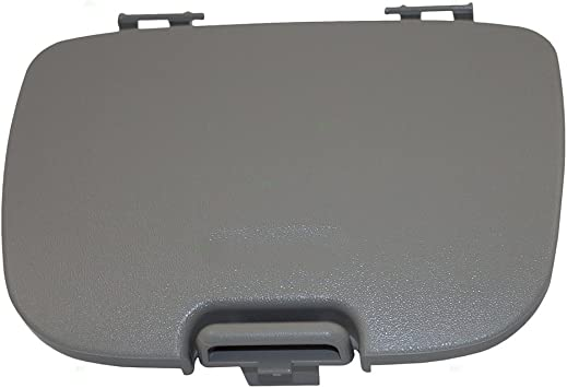 Amazon Com Overhead Console Garage Door Opener Lid Gray Cover Storage Bin Replacement For Ford Explorer Sport Trac Super Duty Pickup W Out Sunroof 2c3z7811586cab Automotive