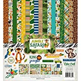 Echo Park Paper Company JS117016 Jungle Safari Collection Kit