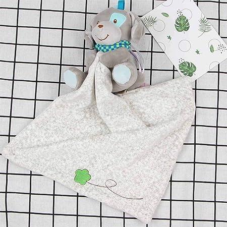 YeahiBaby Mantitas de arrullo mantita de Seguridad para bebés Juguetes de Manta Suave (Perros)