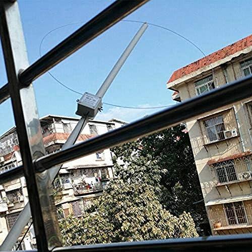 Fransande MLA-30 100KHz-30MHz Attivo Ricezione Antenna Direzionale Medio Onda Corta Pratico Durevole