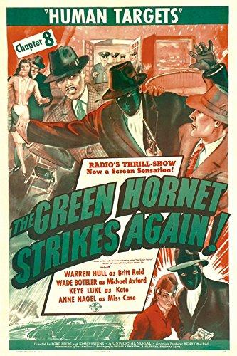 The Leafy Hornet Strikes Again Poster C 27x40 Warren Hull Keye Luke Wade Boteler