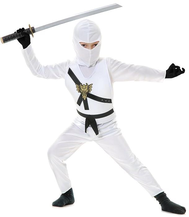 Top 9 Ninja Costume White Kids