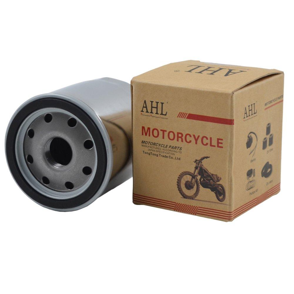 Negro AHL 153 Filtro de Aceite Oil Filter para Ducati Sport 1000 BipostoI 992 2007-2008//Sport 1000S 992 2007-2010