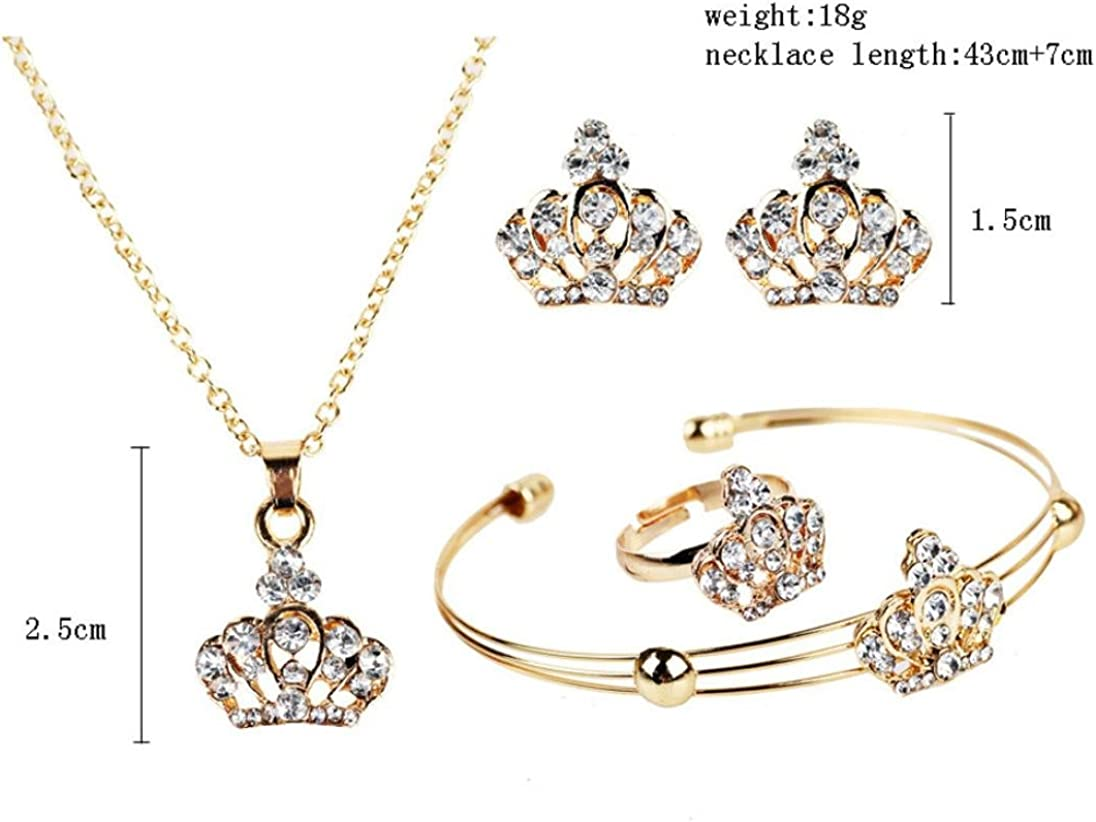 NEARTIME Wedding Jewelries Crystal Bridal Jewelry Sets Hotsale Necklace+earrings