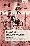 Essays in Legal Philosophy, Bulygin, Eugenio and Bernal, Carlos, 0198729367