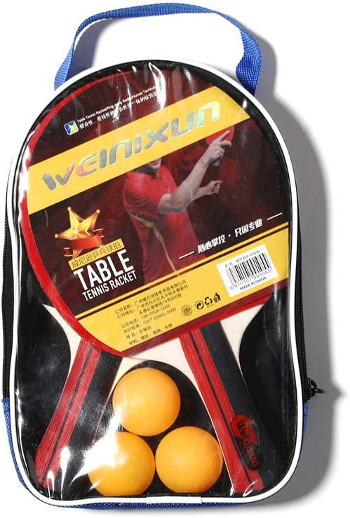 Los Murciélagos De Tenis De Mesa, Ping-Pong Raqueta Set De 2 ...