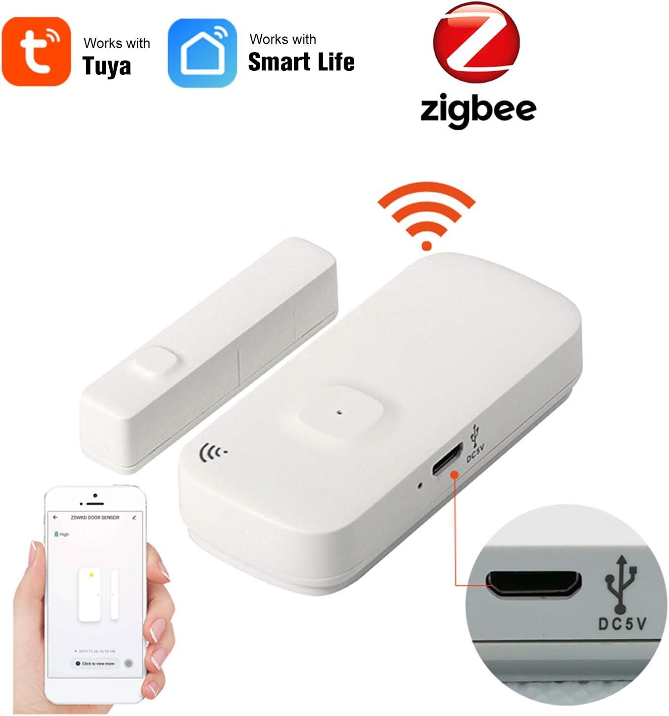 Zigbee Door Sensor Tuya App Control Door Window Opening Security ...