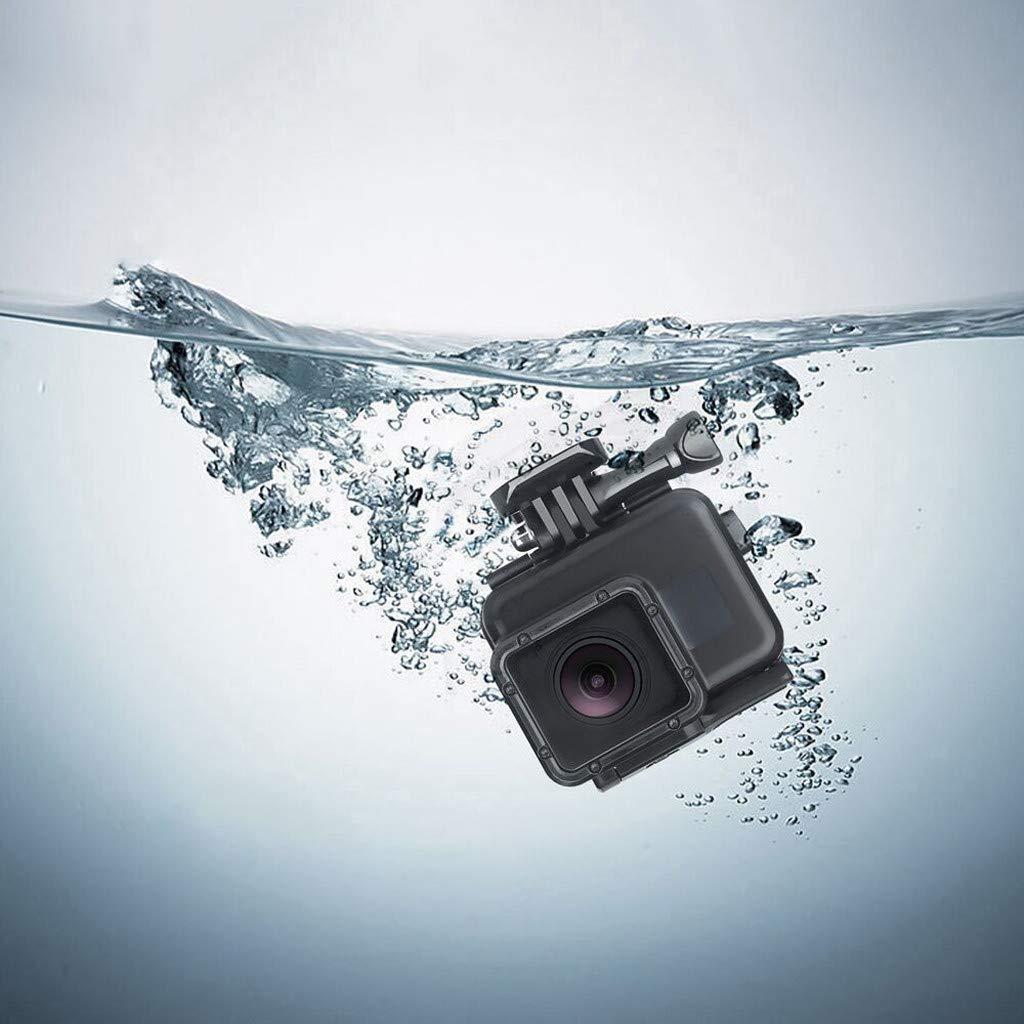 Wasserdichte Schutz Geh/äuse mit Quick Release Berg und R/ändelschraube Aktion Camcorder Altsommer Unterwassergeh/äuse Schutzh/ülle f/ür Gopro Hero 7//6//5//4