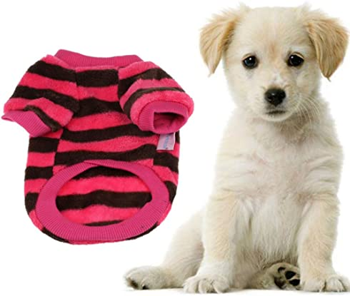 Wensltd Autum Coral Fleece Pet Warm Sweater
